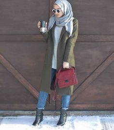 Style Hijab Avec Jeans12