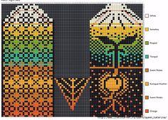 Knitting Charts, Knitting Patterns Free, Free Knitting, Crochet Mittens Free Pattern, Knit Mittens, Fair Isle Knitting, Arm Warmers, Stitch, My Favorite Things