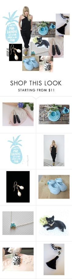 """""""Pina Coladas"""" by inspiredbyten ❤ liked on Polyvore featuring Rustico"""