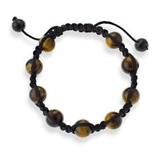 shamballa bracelet for hippy chic days Macrame Bracelets, Jewelry Bracelets, How To Clean Gold, Clean Gold Jewelry, Tiger Eye Beads, Adjustable Bracelet, Hippie Chic, How To Make Beads, Beaded Necklace