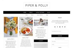 Check out Pinterest-Style Wordpress Theme by dinosaurstew on Creative Market