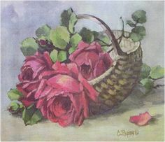 Амарна ФОТОГРАФИИ: цветок картины для декупажа - Живопись Кристи REPASY