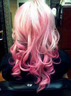 Pink & Blonde Hair, www.hair-salon-noosa The Works Hair, Beauty & Bridal Salon