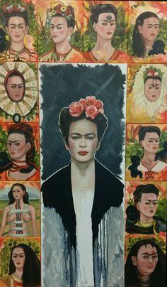 Ans Markus ~ Hommage à Frida Kahlo