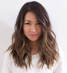 Shaggy Beach Waves For Layered Hair