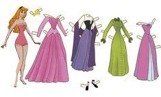 Disney Paper Doll - Aurora | Gabi's Paper Dolls