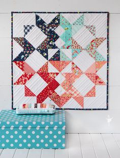Aussie Mini Quilt Swap - Barn Style Quilt - Barn mini quilt and pinnie