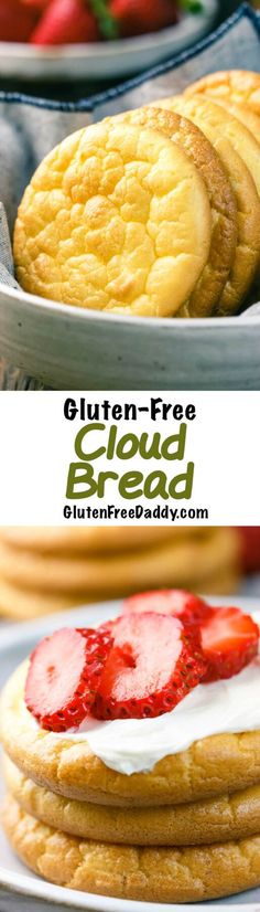 4-Ingredient Cloud Bread Recipe {Gluten-Free, Carb-Free} - This is really simple to make but has tons of uses. I love that I can finally eat bread again on my low carb diet! I make this no carb bread every few days.