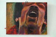 claudio clavetti jimi hendrix (1) €300 #arteonlineshop #art