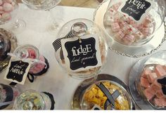 Doing a wedding candy bar? Check out these {free} printable tags