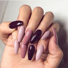 39 Trendy Fall Nails Art Designs Ideas To Look Autumnal and Charming - autumn na. - 39 Trendy Fall Nails Art Designs Ideas To Look Autumnal and Charming – autumn nail art ideas , fa - Dark Nail Designs, Fall Nail Art Designs, Acrylic Nail Designs, Dark Nails, Matte Nails, Dark Color Nails, Purple Nail, Silver Nails, Short Nails Art