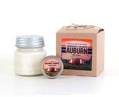 """Smells like Pat Dye Field:  """"The Field\"""" Candle- Fresh Cut Grass Scent"""