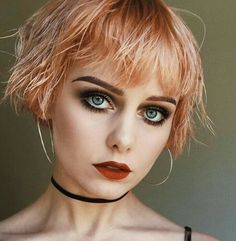Short Bob Hairstyles, Braided Hairstyles, Wedding Hairstyles, Cool Hairstyles, Short Textured Hair, Shot Hair Styles, Great Haircuts, Bowl Cut, Mode Outfits