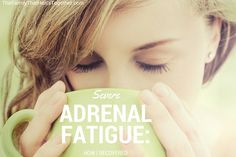 I've been giving you tidbits about the tools I used to recover from adrenal fatigue syndrome, but now I'm ready to create a plan of action that you can follow. Most recently, I wrote about how I i