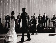 Top 10 Wedding Planning Myths:  #8. A DJ will play too much cheesy music while a band will take too many breaks.