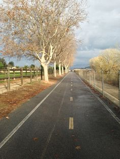 South Fork Trail off of Magic Mountain Parkway. Straight, flat and historic run and bike trail. #remaxofvalencia