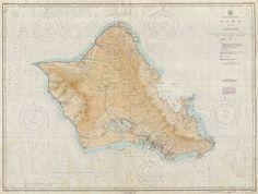 Hawaiian Islands Oahu.
