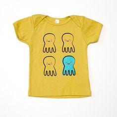 Quadropus Baby T-Shirt by sighfoo on Etsy Shirt Sale, T Shirt, Heart For Kids, Big Kids, Hug, Screen Printing, Children, Tees, Choices