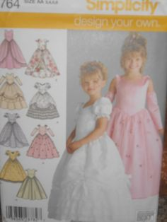 princess dress pattern, made it for Elizabeth will have to make for miss Colbi Anne