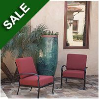 Parker Club Chairs - Set of 2 Mediterranean Garden, Garden Fountains, Club Chairs, Outdoor Living, Accent Chairs, Planter Pots, Patio, Landscape, Furniture