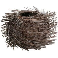 a bird nest inspired vase. wow. :: Small Siska Vase from joss and main