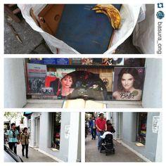 #Repost @basura_ong with @repostapp.  Caminando por Barrio...