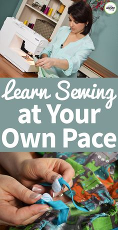 Free sewing videos and tips from the National Sewing Circle. Easy Sewing Projects, Sewing Projects For Beginners, Sewing Hacks, Sewing Tutorials, Sewing Tips, Sewing Ideas, Sewing Lessons, Sewing Class, Sewing Basics