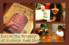 A look inside the Mystery of History Volume One Week 1 | @Tabitha Philen (Meet Penny) @Bright Ideas Press