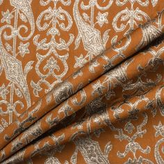 Made in Italy, a lightweight cotton, wool and viscose light brown and silver metallic brocade. May require lining. Silver Fabric, Fabrics, Metallic, Wool, Brown, Cotton, Design, How To Make, Fabric