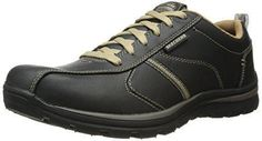 Oferta: 79.95€ Dto: -4%. Comprar Ofertas de Skechers SuperiorLevoy - Zapatillas de piel para hombre,, Bktn, 48.5 barato. ¡Mira las ofertas!