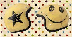 #dmd #vintage #moto #helmet #smile