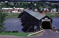 Covered bridges in New Brunswick