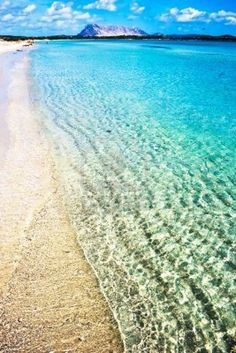 Sandy beach Cinta near San-Teodoro, Sardinia, Italy