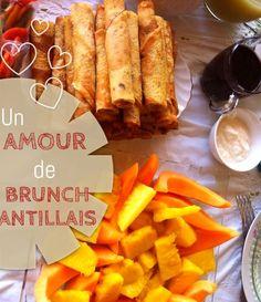 Je partage mes recettes pour un brunch antillais qui fera chavirer les coeurs : smoothies, recettes salées et sucrées...tout y est! Recettes faciles
