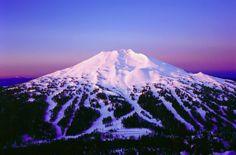 Bend, Oregon @ Mount Bachelor. Where I learned to ski!