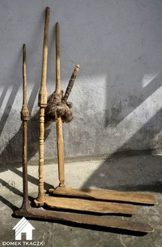 Domek Tkaczki przęślice Spinnrocken für Sitzende Haltung