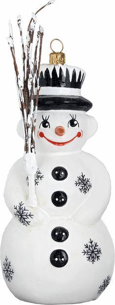 Ino Schaller Santa Joy To The World Blown Glass Christmas Ornaments, Ornaments Design, Hallmark Ornaments, Snowman Ornaments, Snowmen, Christopher Radko Ornaments, Christmas Countdown, Merry Christmas, Black Christmas