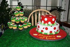 Katie's Cakes: Ladybug Baby Shower Cake