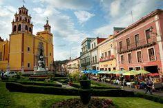 Plaza de la Paz en Guanajuato