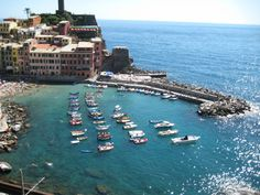 A cool, tiny, tucked away village where no cars can reach, Vernazza, Italy. #travel