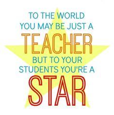 Star Teacher Gift in a Jar  sc 1 st  Pinterest & Teacher Appreciation Week--cute poem and acronym | Door Decoration ...