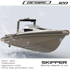 Did you know that SKIPPER DESIRE 120S is a RIB of many years of studies and testing. Some of her characteristics are a consumption rate of 2.0- 2.5lt per mile and a speed of 50 – 70 knots, depending on the engine combined (2 * 300Hp min or 2 * 650Hp max) ?  Designed by Alexandros Stavroulakis  Pavlos Stavroulakis George Stavroulakis Skipper-bsk  https://www.facebook.com/Skipper-bsk-93517629141/…