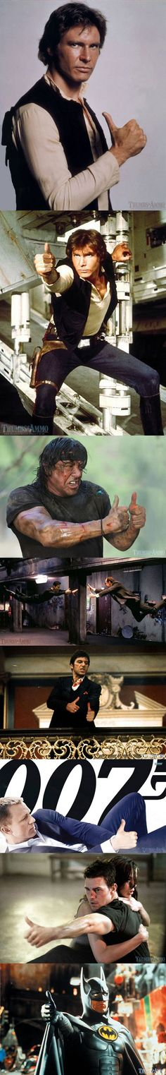 Guns In Movies Replaced With Thumbs-Ups