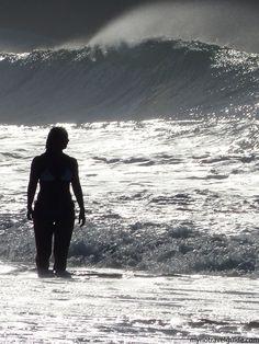 Brazilian woman on Copacabana Beach - Rio travel tips on the blog!