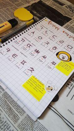 Korean Words Learning, Korean Language Learning, Learning Spanish, Learn Korean Alphabet, Learn Hangul, Korean Writing, Korean Lessons, Spanish Lessons, Korean Phrases