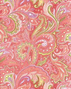 Capacious Paisley - Rose