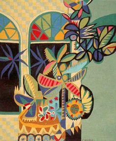Genaro de Carvalho. Textile Patterns, Textiles, Illustration Art, Illustrations, Work Inspiration, Pattern Art, All Art, Wall Tapestry, Still Life