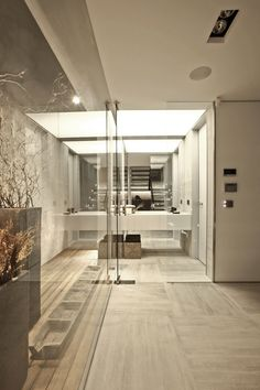 contemporist - mordern architecture - tanju özelgin - s house - istanbul - turkey - interior view - bathroom