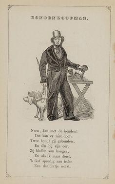 Hondenkoopman. Uit: Prentenboek: een ijverige hand vindt werk, 1850. Aanvraagnummer: 851998240