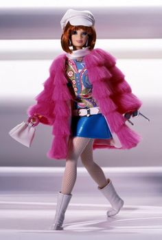 Barbie - Groovy 60's (sixties) Collector Doll - Great Fashions of the 20th Century Collection
